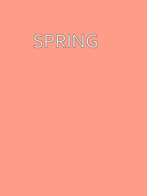 Spring skin tone