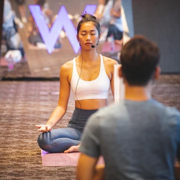 Maggie, Yoga, wild couple fitness