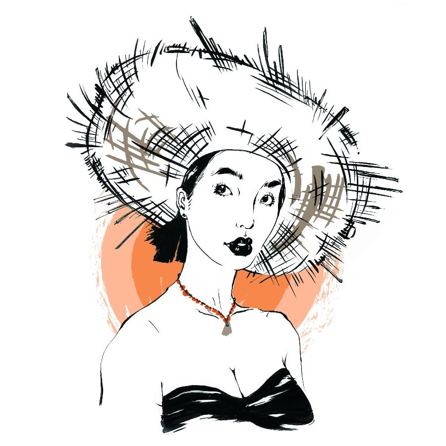 Maggie illustration
