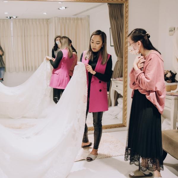 Jenny Chou 婚紗