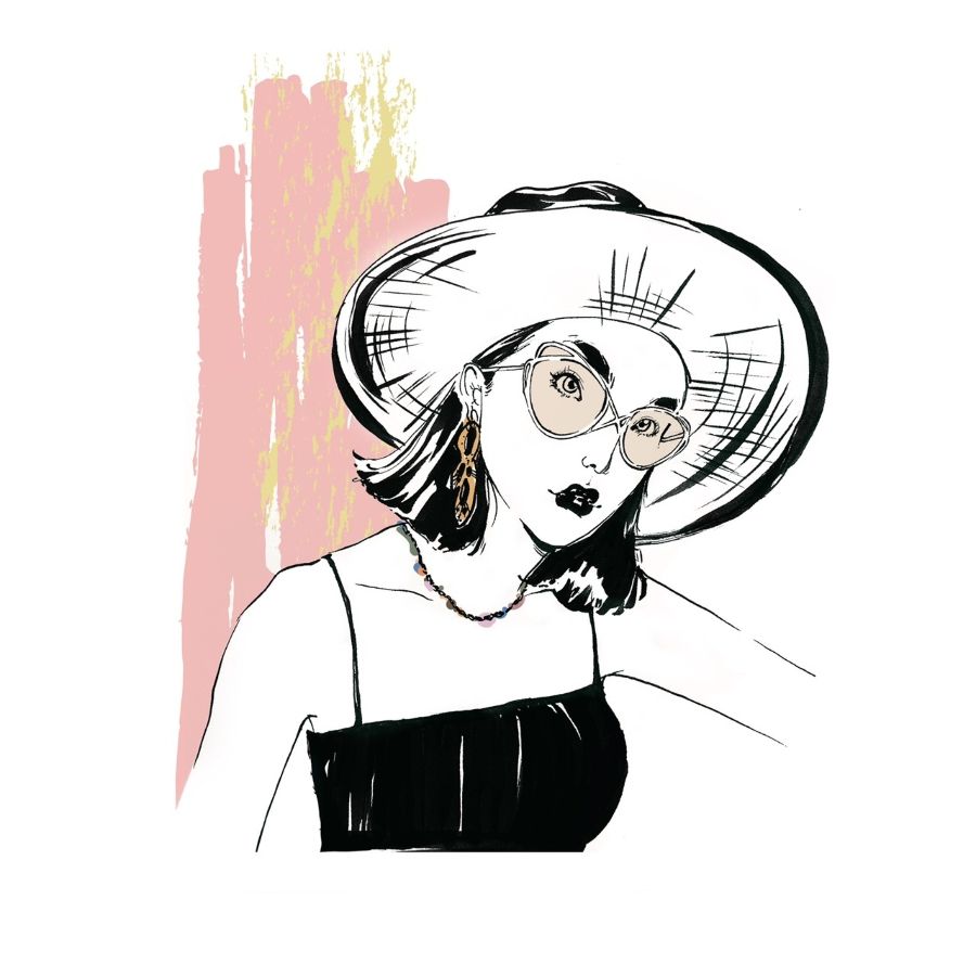Peggy illustration, 時尚 穿搭